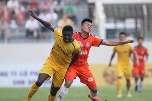 Vòng 14 V.League 2019: Cuộc tranh chấp vào top 3 của SLNA và SHB Đà Nẵng