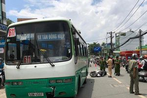 Thương tâm: Va chạm với xe buýt, cô gái chạy xe SH tử vong