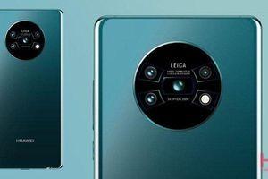 Rò rỉ thiết kế cụm camera 'tròn xoe' siêu lạ của Huawei Mate 30 Pro