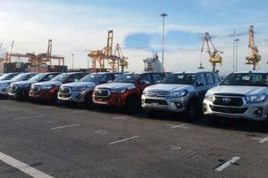 Ô tô nhập khẩu tăng gấp 5 lần, dần chiếm lĩnh thị trường