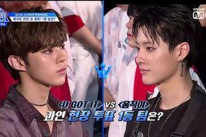 'Produce X 101' tập 10: Kim Yo Han về nhất nhưng Han Seung Woo lại đứng top tìm kiếm ở Hàn