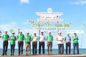 TP Hội An phát động phong trào 'Vì Hội An sạch hơn' thu hút hơn 500 người tham gia