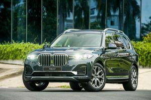Cận cảnh BMW X7 vừa ra mắt tại thị trường Việt Nam