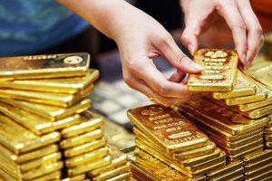 Giá vàng giảm mạnh, mất mốc 1.400 USD/ounce