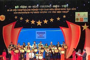 Thương hiệu Việt: Tôn vinh doanh nghiệp điển hình sáng tạo 2019