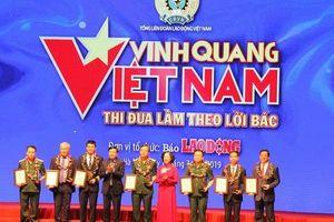 19 tập thể, cá nhân xuất sắc được tôn vinh trong Chương trình 'Vinh quang Việt Nam'