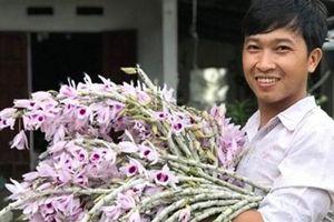 Trộm khoắng vườn lan 2 tỷ: Đánh rơi vật chứng