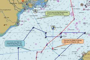 Sử dụng thiết bị lặn siêu vi tìm 9 ngư dân mất tích gần Bạch Long Vĩ