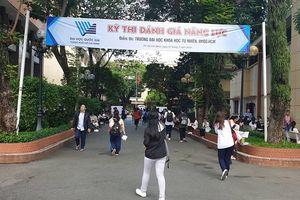 Hơn 15.000 thí sinh thi đánh giá năng lực đợt 2 của ĐHQG TPHCM