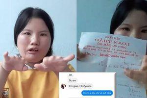 Bà mẹ cụt 6 ngón tay xin những kẻ boom hàng chừa cho mình con đường sống