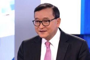 Cựu thủ lĩnh đối lập lưu vong Campuchia tiếp tục vướng vòng pháp lý
