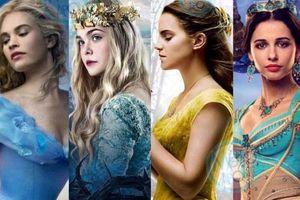 Ngắm nhìn nhan sắc của các công chúa Disney phiên bản điện ảnh
