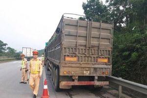 750 tài xế bị tước giấy phép lái xe vì chở quá tải