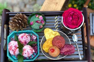 Thử ngay món kem hoa độc đáo vừa xuất hiện tại Đà Lạt