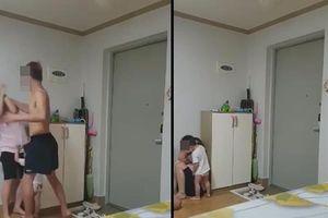 Chồng Hàn đánh vợ Việt gãy xương sườn trình diện trước tòa
