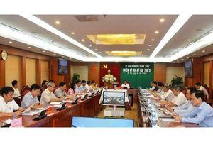 Thông cáo báo chí Kỳ họp 37 của Ủy ban Kiểm tra T.Ư