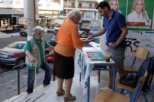 Hy Lạp bầu cử trước thời hạn