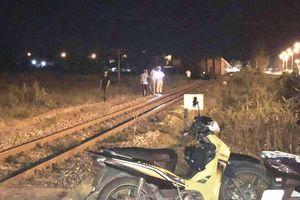 Tai nạn đường sắt giữa khuya, một người tử vong ở Tam Kỳ