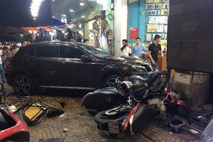Nữ tài xế Mercedes tông hàng loạt xe máy: Không say, không bỏ trốn như lời đồn