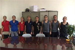 Phát hãi với 4 chủ tiệm cầm đồ xăm trổ ở phố núi Lào Cai