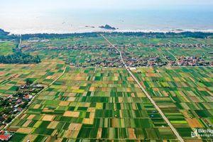 Mát mắt những mảng xanh đẹp như tranh ở miệt bãi ngang Nghệ An