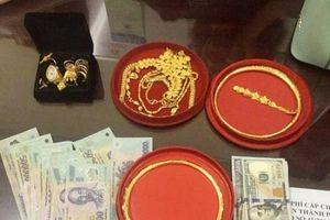 Bắt đối tượng 'cõng' 4 tiền án đột nhập nhà dân trộm nhiều tiền, vàng