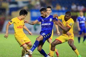 B.Bình Dương - Nam Định: Đội bóng thành Nam vẫy vùng tách tóp