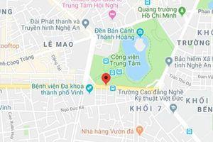 Kịp thời dập tắt đám cháy nhà dân tại trung tâm thành phố Vinh