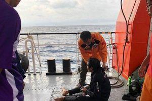 Điều robot lặn tìm kiếm 9 thuyền viên mất tích ở Nghệ An