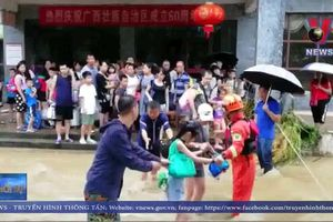 Trung Quốc: Bão lũ khiến hàng trăm nghìn người bị ảnh hưởng