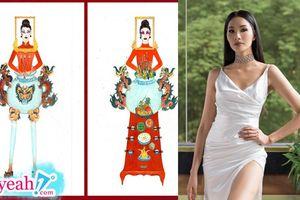 Top 18 trang phục dân tộc cho Hoàng Thùy tại Miss Universe 2019: Bàn thờ, xe xích lô, hoa sen... và nhiều tạo hình độc đáo