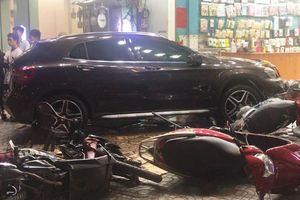 Nữ tài xế lái xe Mercedes gây TNGT ở TP.HCM không xuất trình được bằng lái