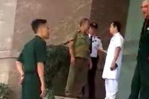 Bệnh viện 108 thông tin vụ xô xát giữa 2 chiến sỹ cảnh vệ với bệnh nhân và người nhà