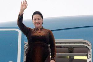 Chủ tịch Quốc hội lên đường thăm chính thức CHND Trung Hoa