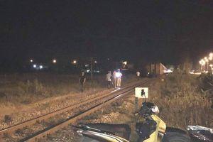 Quảng Nam: Tàu hỏa tông một thanh niên tử vong