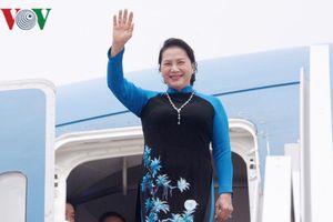 Chủ tịch Quốc hội Việt Nam đến Cộng hòa Nhân dân Trung Hoa