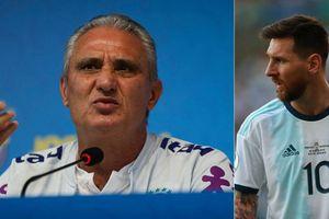 HLV Tite và dàn cầu thủ Brazil đồng loạt 'phản pháo' Lionel Messi