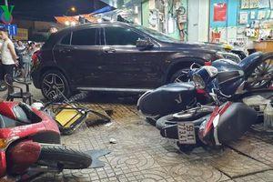 Vụ Mercedes tông liên hoàn xe máy: Nữ tài xế không có cồn trong người