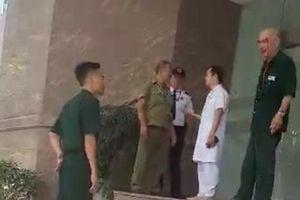 Bệnh viện 108 lên tiếng về vụ xô xát giữa bảo vệ và bệnh nhân