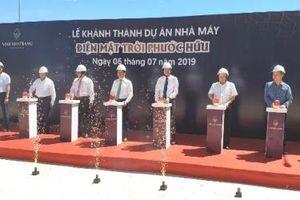 Nhà máy điện mặt trời hơn 1.420 tỷ đồng tại Ninh Thuận phát điện thương mại