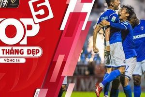 Top 5 bàn thắng đẹp vòng 14 V-League 2019: Tú 'ngựa' dẫn đầu cùng siêu phẩm vào lưới CLB Sài Gòn