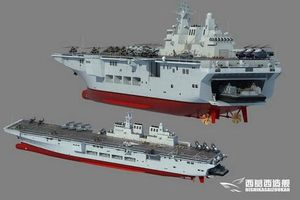 Kinh ngạc trước tốc độ Trung Quốc đóng mới tàu đổ bộ trực thăng Type 075