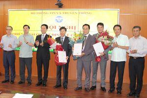 Bộ TT-TT bổ nhiệm Cục trưởng Cục Xuất bản, In và Phát hành