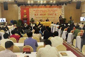 Khai mạc Kỳ họp thứ 9 HĐND tỉnh Bình Định