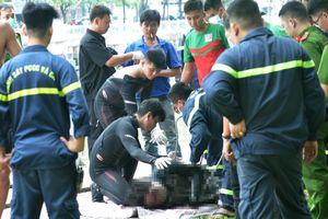 Vớt thi thể nghi can giết nữ sinh 19 tuổi ở kênh Nhiêu Lộc