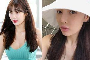 HyunA lộ môi dày khác lạ sau ồn ào thẩm mỹ