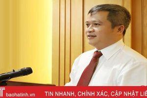 Tiểu sử Phó Bí thư Tỉnh ủy Hà Tĩnh Trần Tiến Hưng