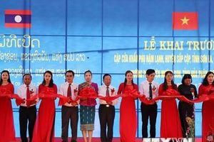 Khai trương cặp cửa khẩu phụ Nậm Lạnh-Mường Pợ trên biên giới Việt-Lào