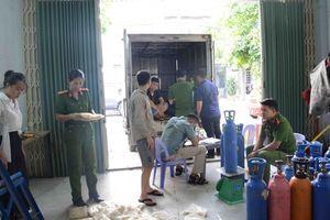 Đà Nẵng: Phát hiện hơn 200 bình khí N2O không rõ nguồn gốc xuất xứ