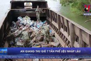 An Giang thu giữ 7 tấn phế liệu nhập lậu